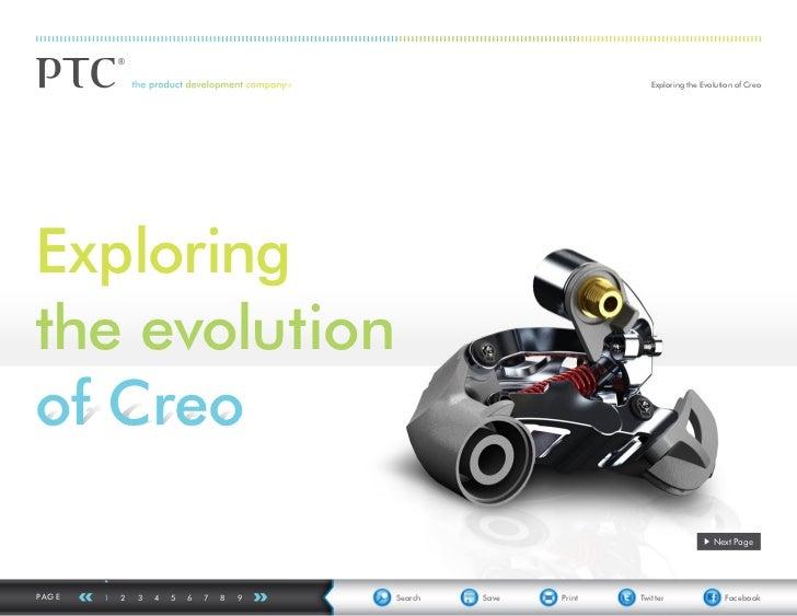 PTC: Exploring The Evolution of Creo