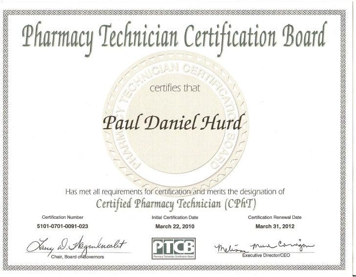 certificate ptcb slideshare upcoming