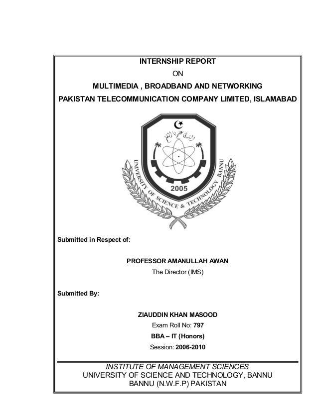 Ptcl report-2