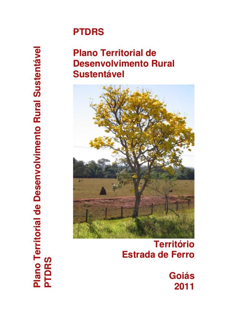 PTDRSPlano Territorial de Desenvolvimento Rural Sustentável                                                         Plano ...