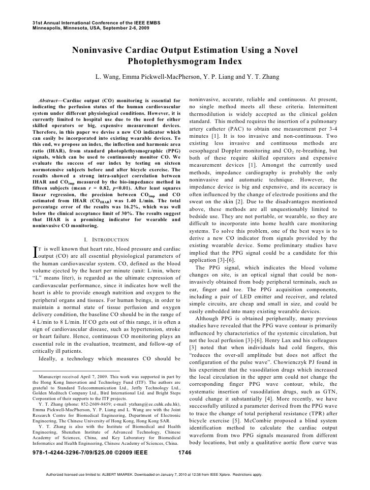 31st Annual International Conference of the IEEE EMBS Minneapolis, Minnesota, USA, September 2-6, 2009                    ...