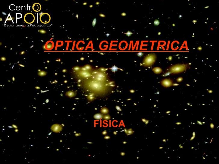 www.aulasdefisicaapoio.com - Física -  Óptica