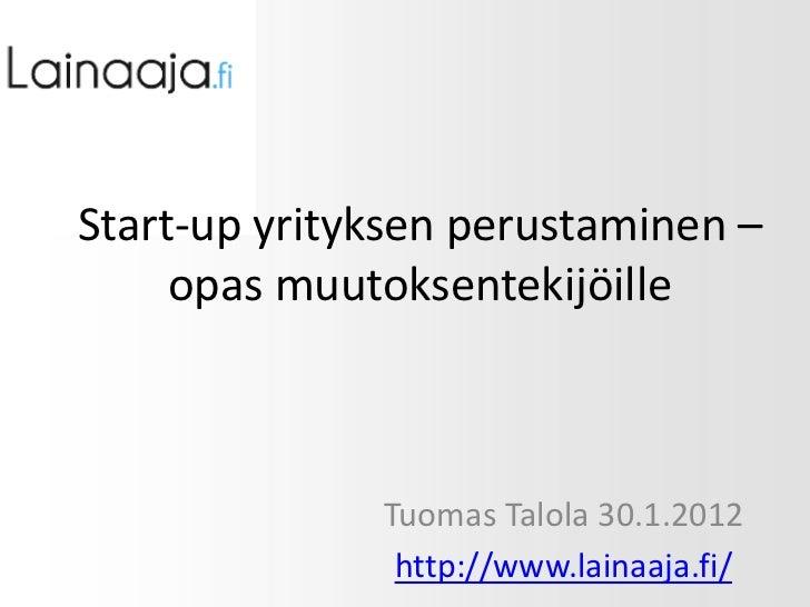 Esitys Turun kauppakorkeakoulun verkkoliiketoiminnan kurssilla