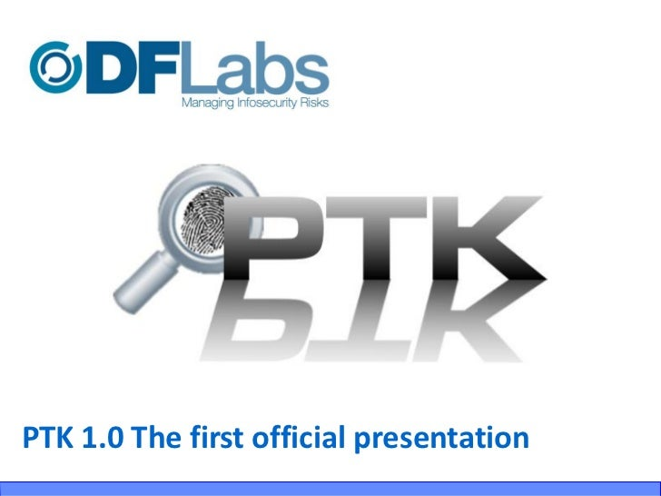 PTK 1.0 The first official presentation