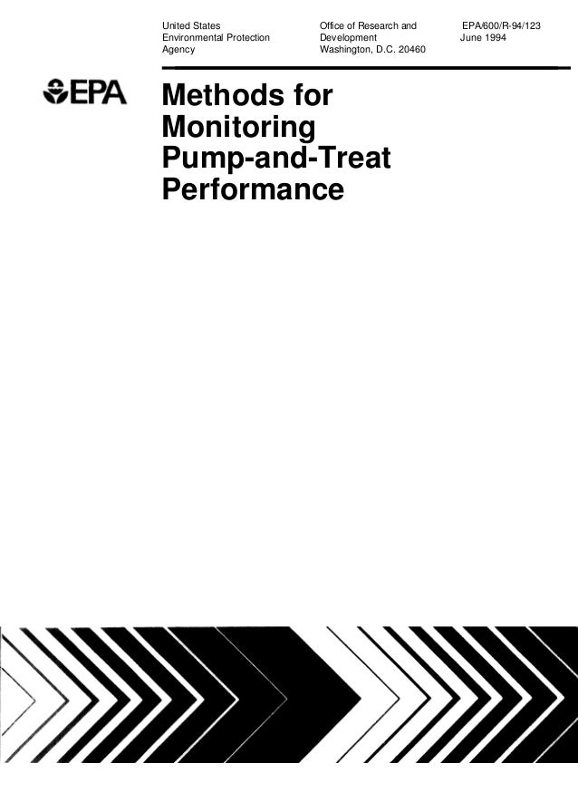 Methods for Monitoring Pump-and-Treat Performance