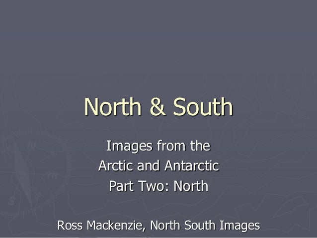 North & South Images from the Arctic and Antarctic Part Two: North Ross Mackenzie, North South Images