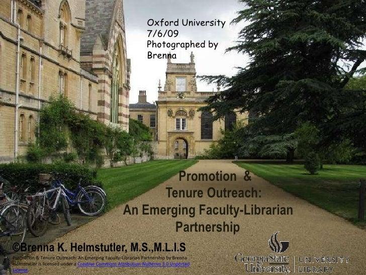 Oxford University                                                              7/6/09                                     ...
