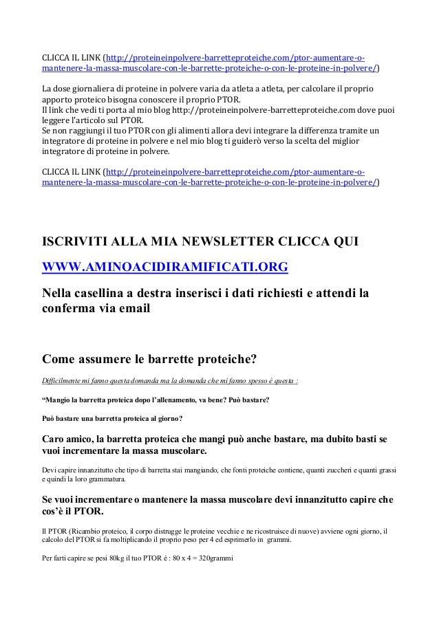 CLICCA IL LINK (http://proteineinpolvere-barretteproteiche.com/ptor-aumentare-o-mantenere-la-massa-muscolare-con-le-barret...