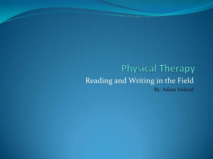Physical Therapy thesis writing websites