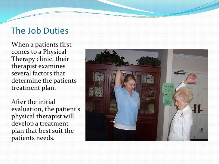 What does the education of a physical therapist involve?