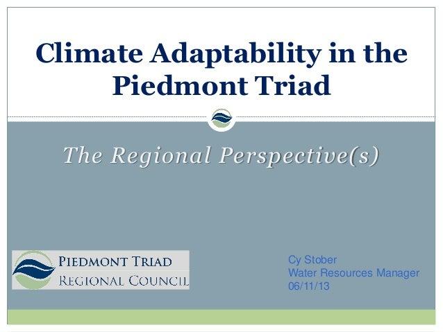 Climate Piedmont Triad.  C. Stober