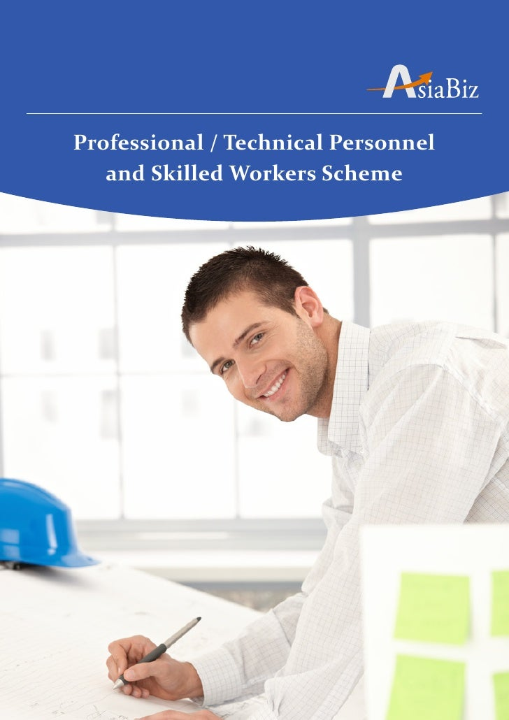 Professional / Technical Personnel   and Skilled Workers Scheme