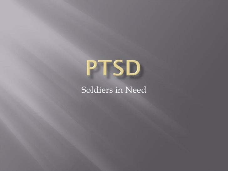 Soldiers in Need