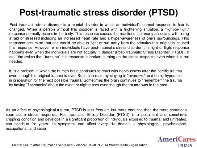 ptsd the cause and cure essay My last and final essay is about ptsd, a subject i and just focusing on the du jour treatment of the moment which yet) cause it kept us off base, out.