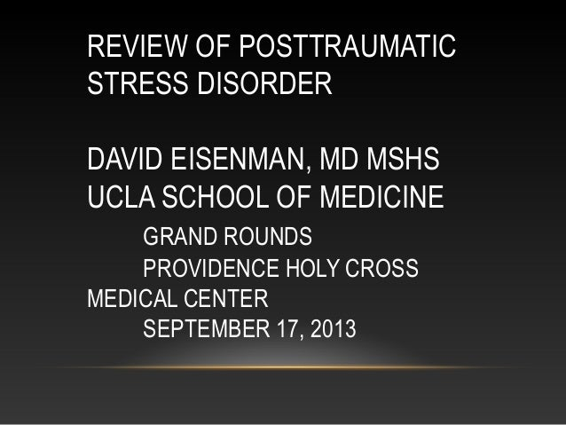 PTSD for Primary Care Providers under the new DSM