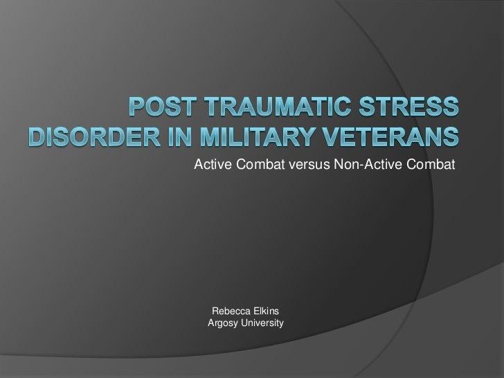 PTSD Veterans Presentation