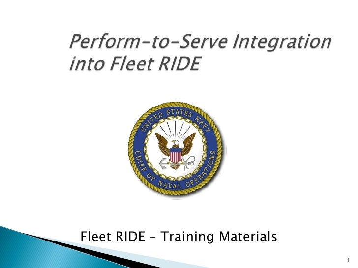 Fleet RIDE – Training Materials