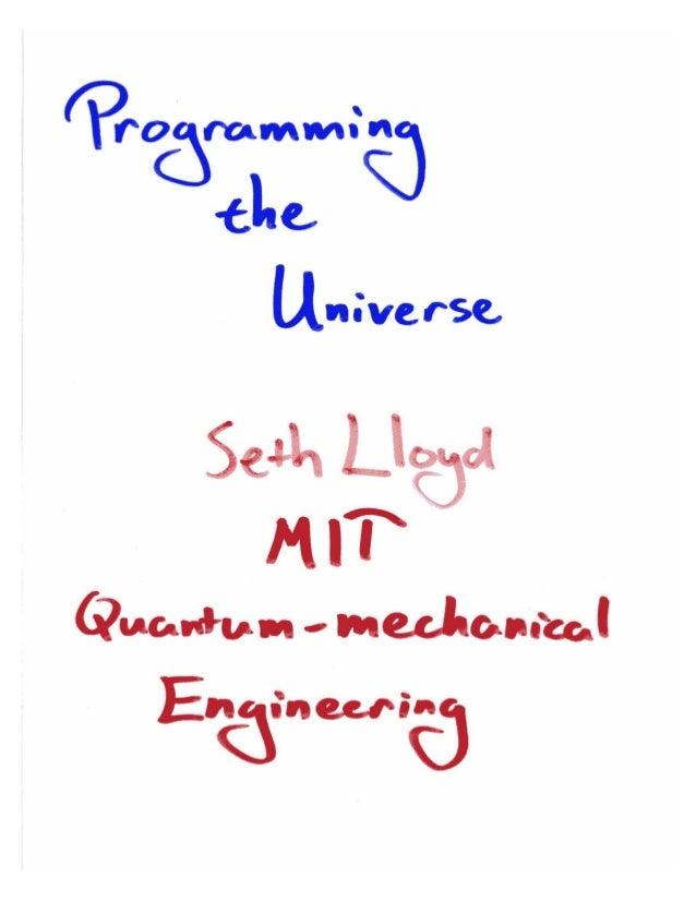 Seth LLoyd of MIT for Knowledge Stream