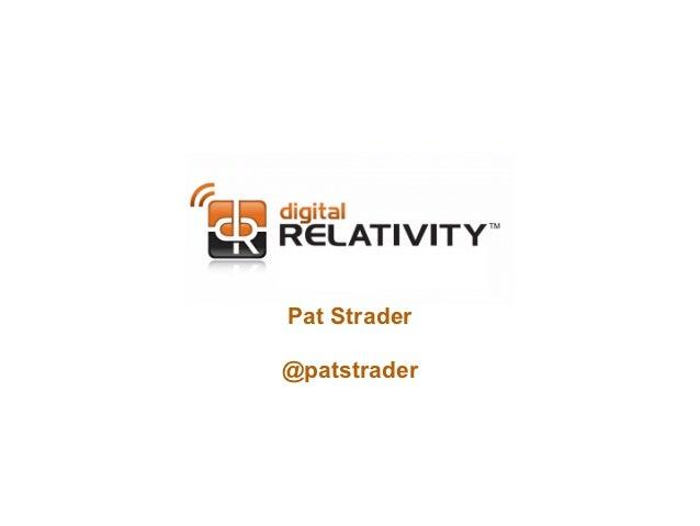 Pat Strader@patstrader