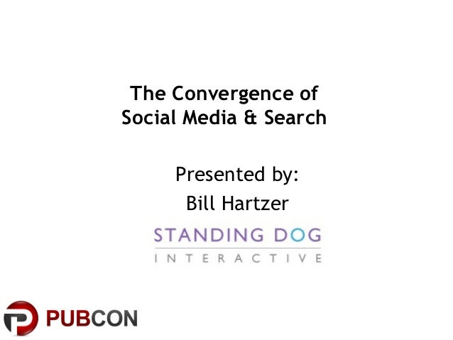 The Convergence ofSocial Media & Search     Presented by:      Bill Hartzer