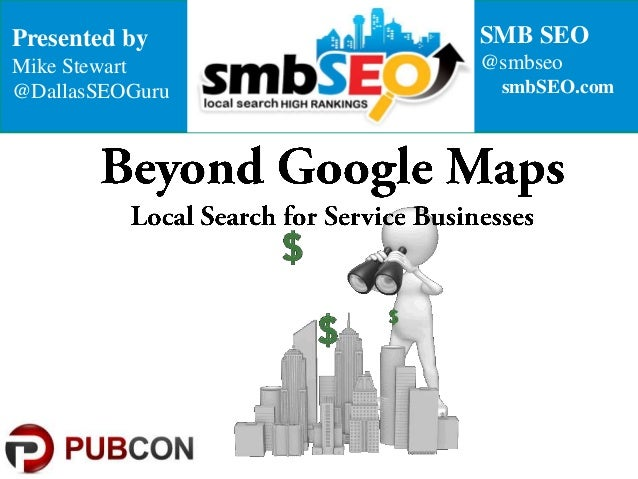 Local Search Rankings SEO for Service-area based Businesses SMBs