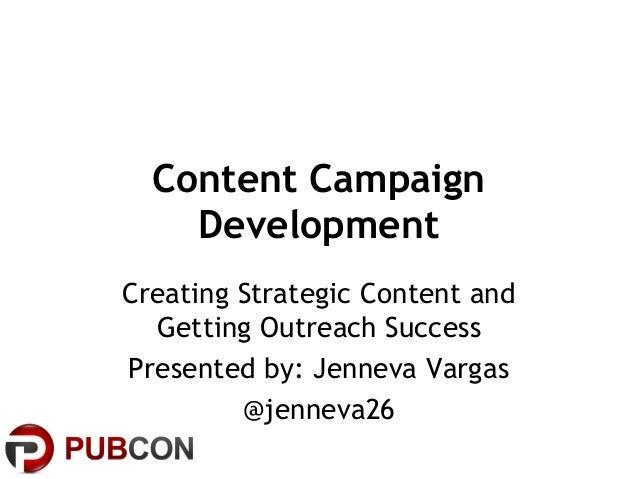 Pubcon Vegas - Content Campaign Development