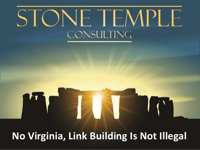 No Virginia, Link Building Is Not Illegal
