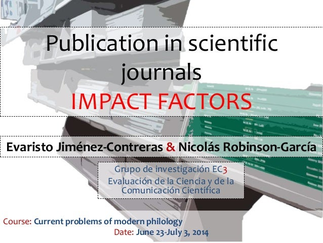 journal of scientific research and essays impact factor The strength of science and its online journal sites rests with the strengths of its  community of authors, who provide cutting-edge research, incisive scientific.