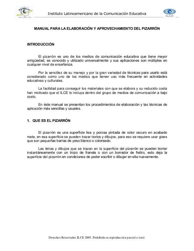 Instituto Latinoamericano de la Comunicación Educativa Derechos Reservados ILCE 2005. Prohibida su reproducción parcial o ...