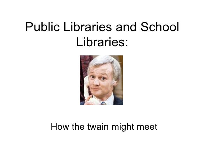 Public and School Library Partnerships