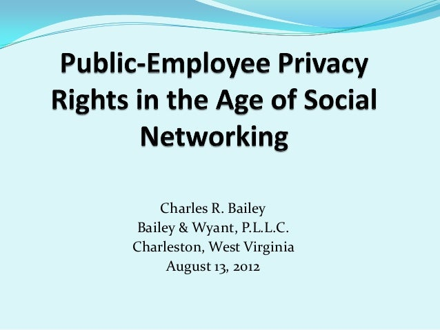 Public-Employee Privacy Rights in the Age of Social Media