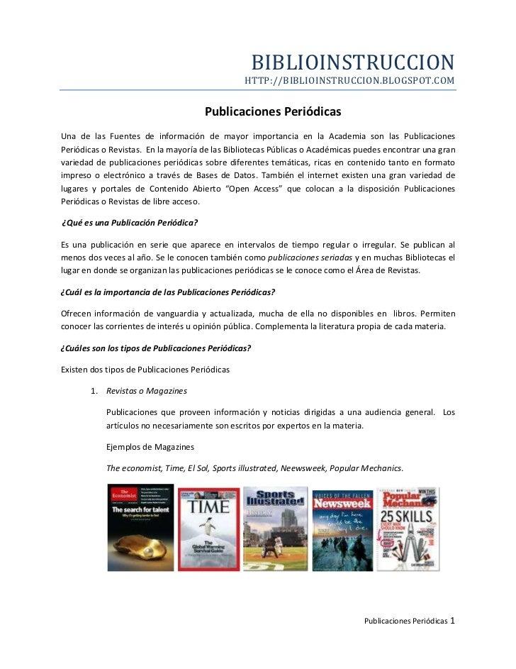 BIBLIOINSTRUCCION                                                 HTTP://BIBLIOINSTRUCCION.BLOGSPOT.COM                   ...