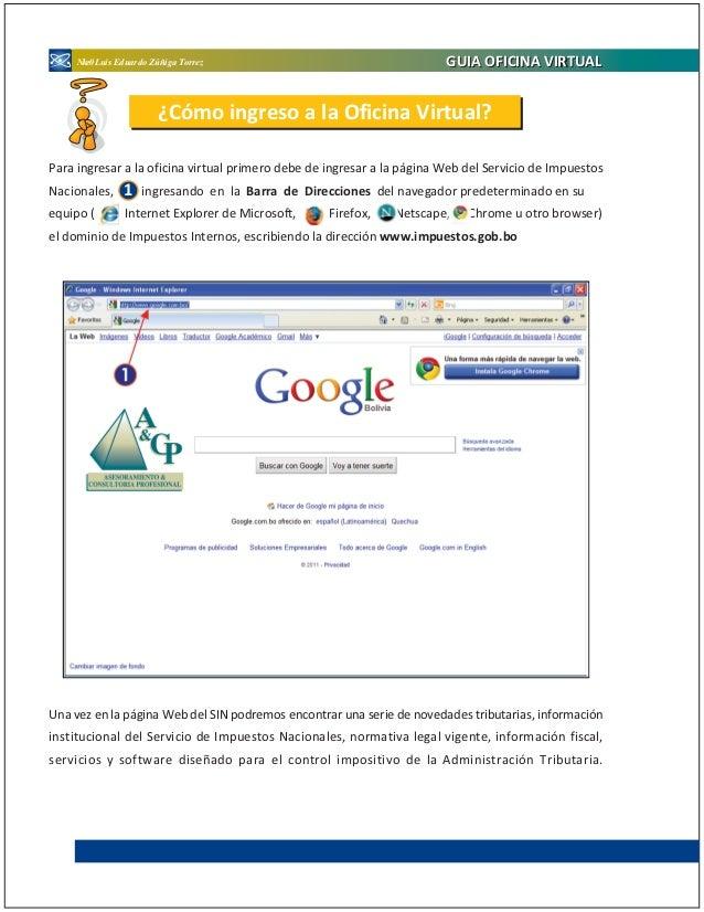 Oficina virtual publicacion oficina virtual version 2011 for Oficina virtual impuestos