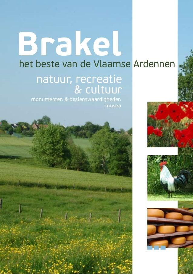 Brakel  het beste van de Vlaamse Ardennen  natuur, recreatie & cultuur  monumenten & bezienswaardigheden musea