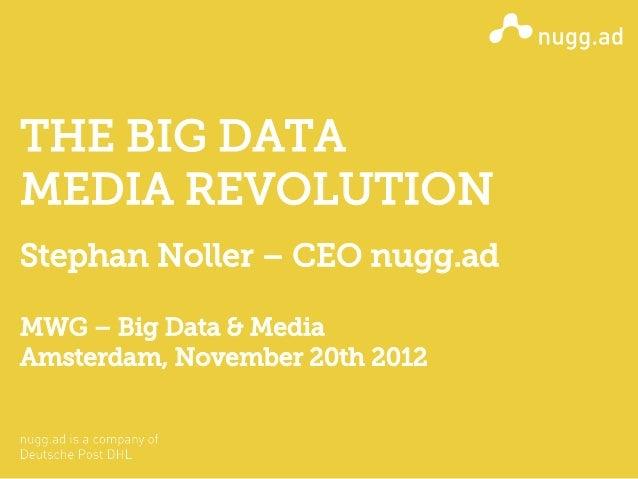 MWG Big Data & Media - Stephan Noller (nugg.ad)