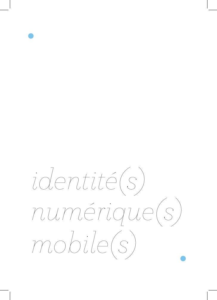 identité(s) numérique(s) mobile(s)