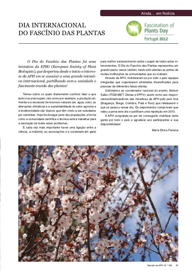 Publication in the journal APH nº109