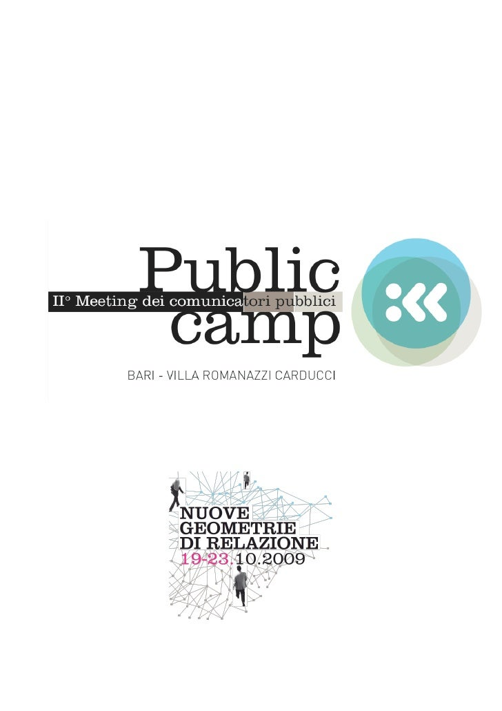 Public Camp Bari Meeting dei Comunicatori Pubblici 2009