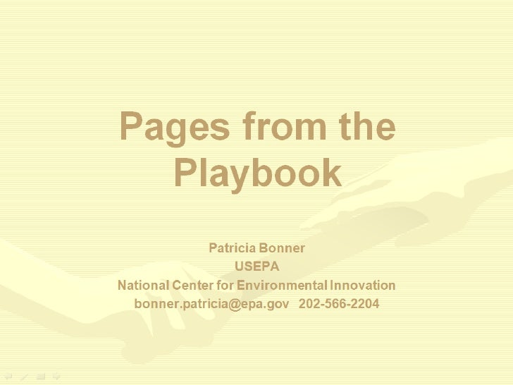 Public Engagement At The Epa