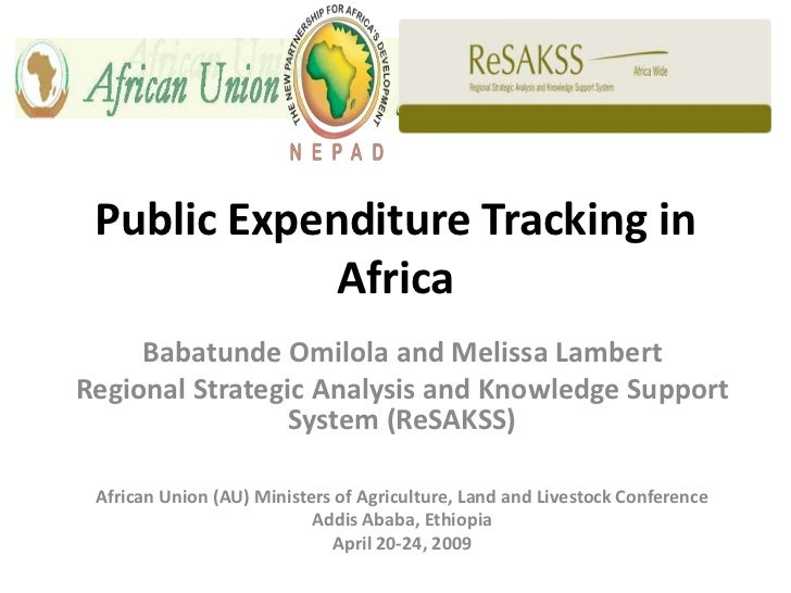 Public Expenditure Tracking in Africa_2009