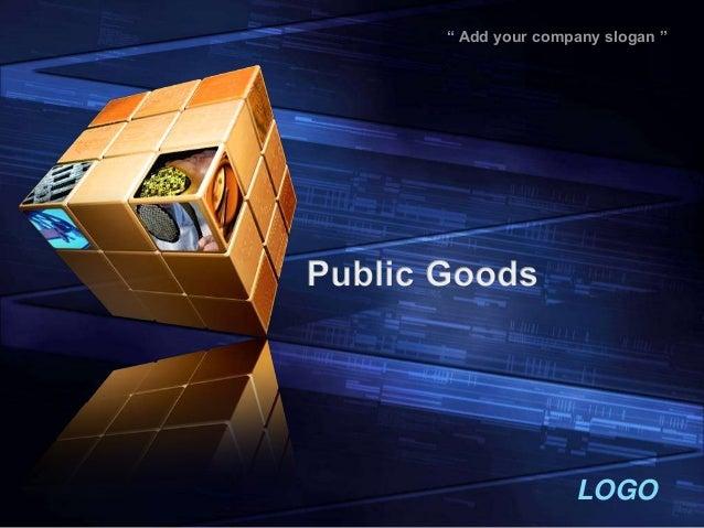 Public good ppt