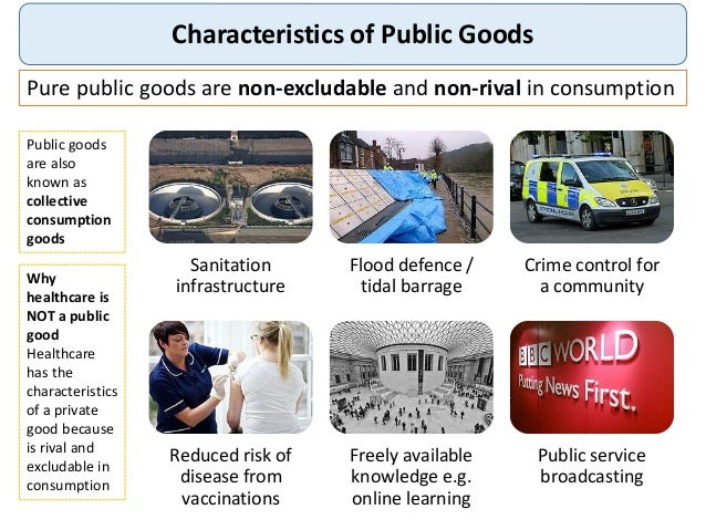 public provision of private goods (1996), is a positive theory of the public provision of private goods driven by political economy considerations 5 epple and romano (1996) consider a political economy model where the level of a private good (say, fihealth carefl) and whether private purchases are permitted to supplement.