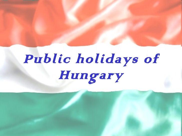 Public holidays of Hungary