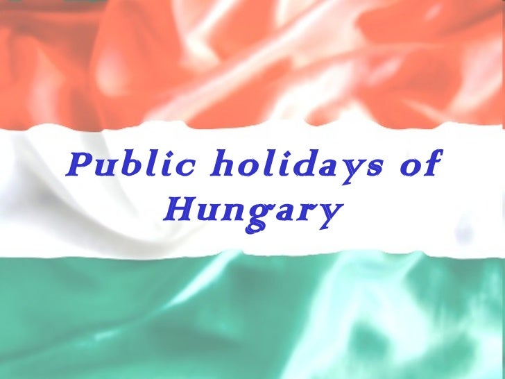 Public holidays in Hungary - Turkish project