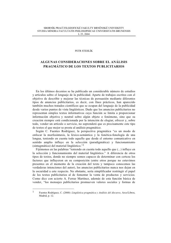 SBORNÍK PRACÍ FILOZOFICKÉ FAKULTY BRNĚNSKÉ UNIVERZITY     STUDIA MINORA FACULTATIS PHILOSOPHICAE UNIVERSITATIS BRUNENSIS  ...