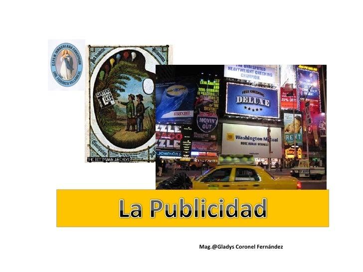 Mag.@Gladys Coronel Fernández