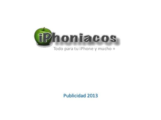 Publicidad en iPhoniacos