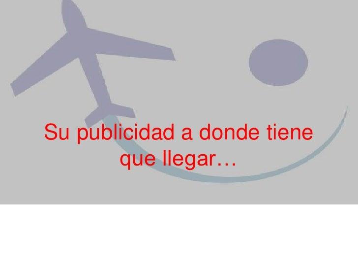 Publicidad Aeroman Virtual