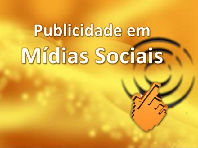 Publicidade em midias sociais ucdb by valreiss