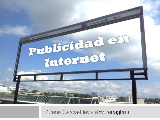 Publicidad en internet presentación